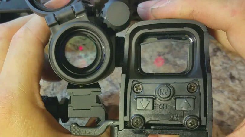 Choosing the best red dot sight