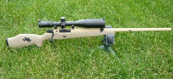 custom .257 Weatherby Magnum Coyote