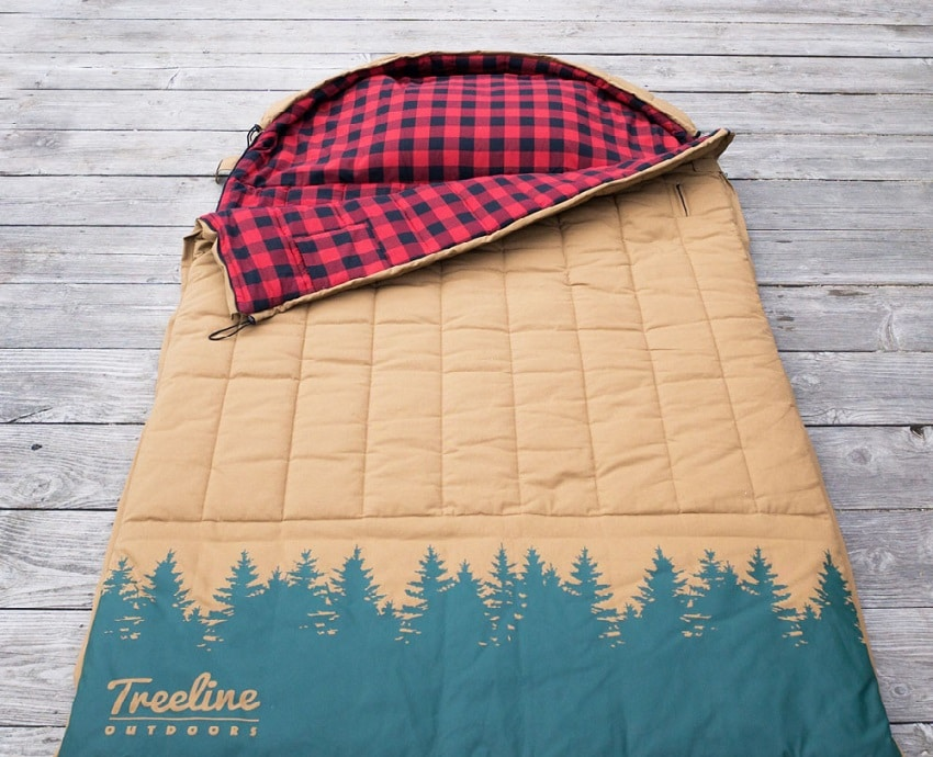 Double sleeping bag with Insulation