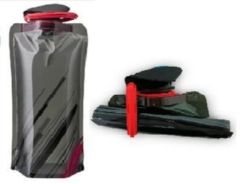 Dy Ryer Compact Collapsible Folding Leak Proof Water Bottle