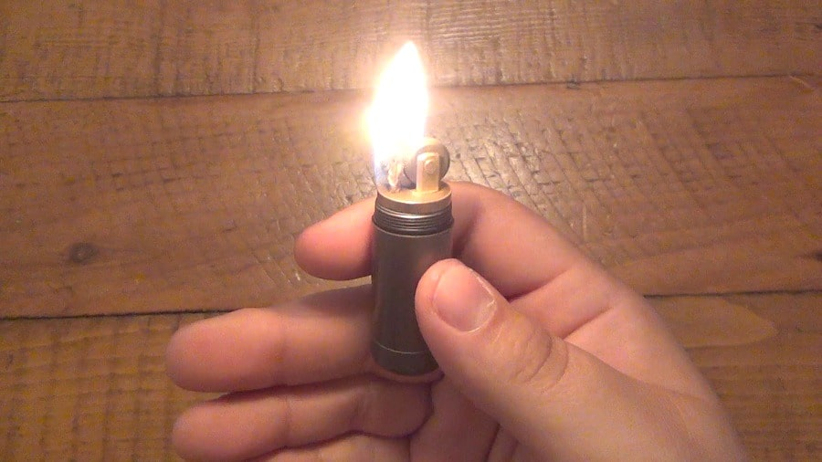 Hands free lighter