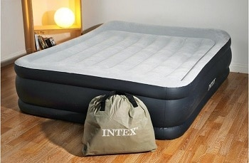 Intex Deluxe Pillow Rest Raised Airbed