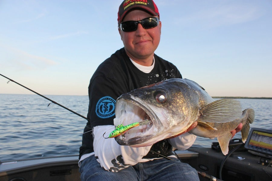 Lures for walleye