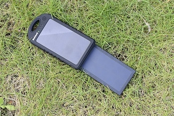 NEKTECK Dual Sunpower Solar Panel Power Bank