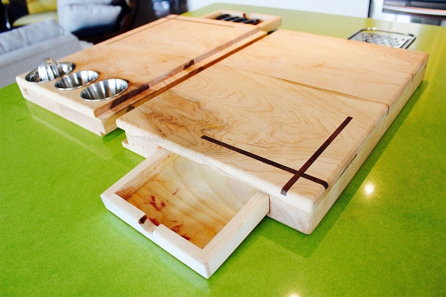 On-the-go cutting boards