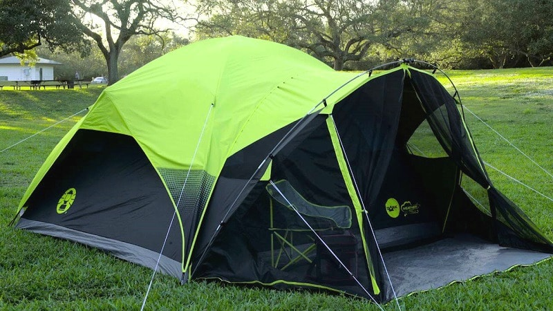 Six person tent Quick pitch