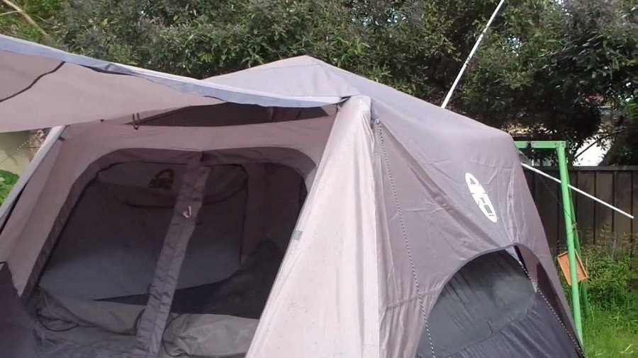 Six person tent rain fly