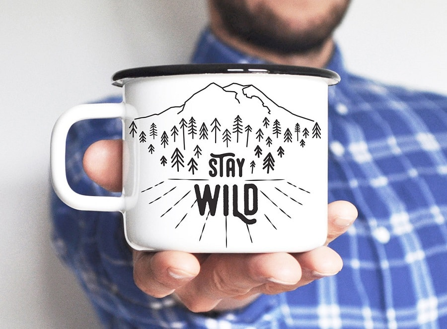 Stay wild cup