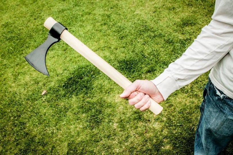 Tomahawk for throwing