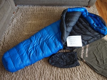 best sleeping bag for campervan