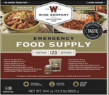 Wise Company Entree Only Grab n Go Food Kit