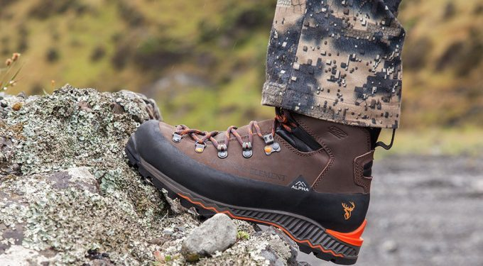 Alpha hunting boots