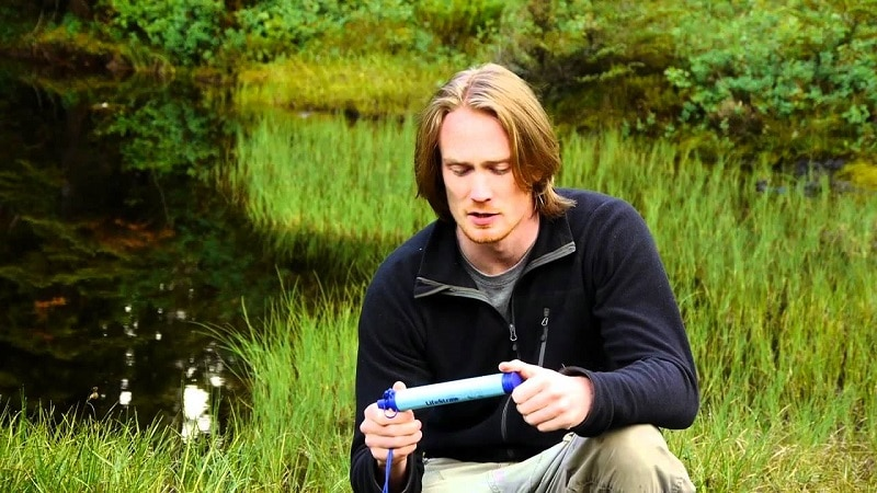 Lifestraw in the wild