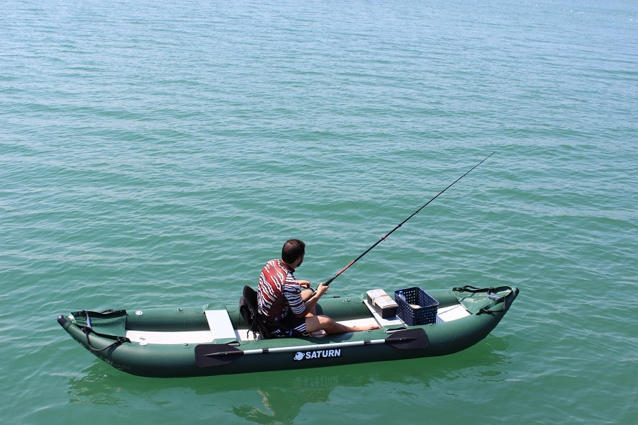 Ocean inflatable fishing kayak