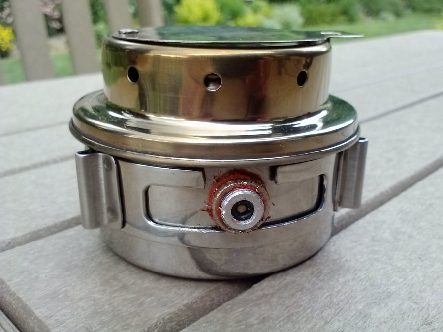 Alcohol stove material