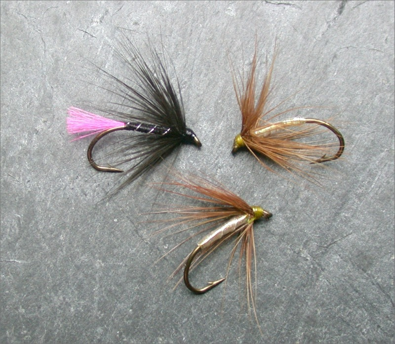 Artificial Flies for trout fishing
