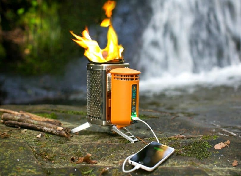 Biolite Wood Burning Campstove Features Specifications