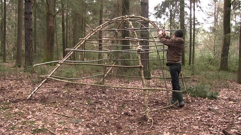 Build dome shelter