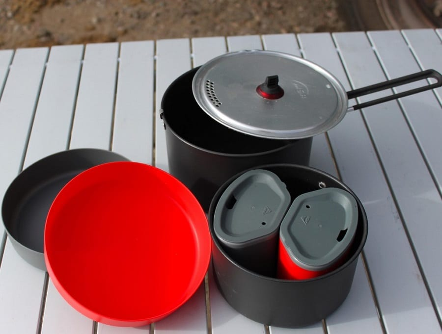 Camping Cookware Material