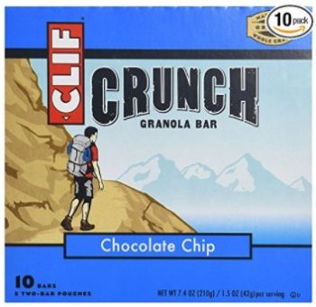 Clif Bar Crunch Granola All Natural Chocolate Chip