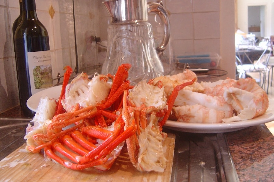 Crayfish Preparation