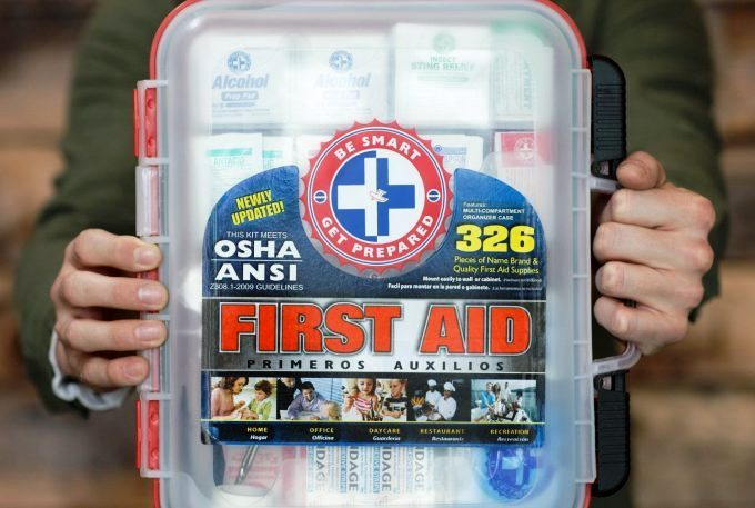 First Aid Kit Design