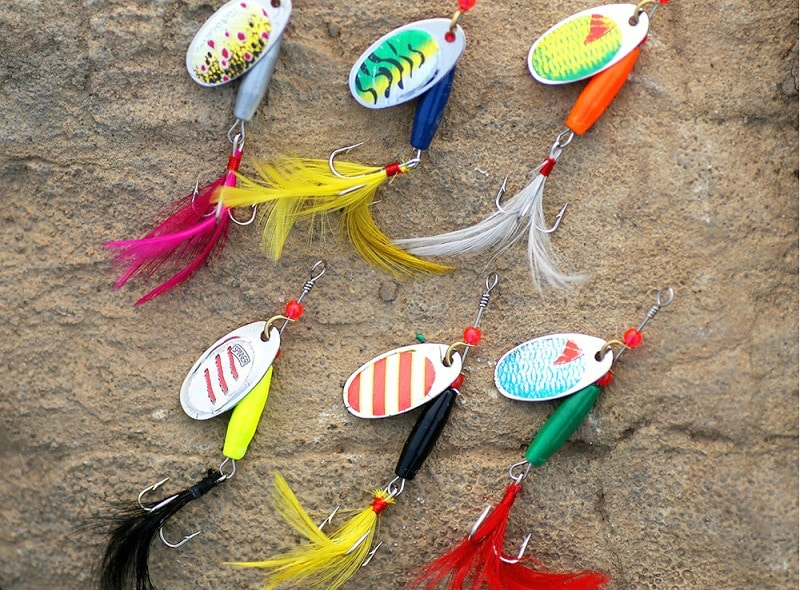 Fishing spinners design