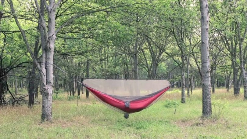 Hammock with Mosquito Net outdoor