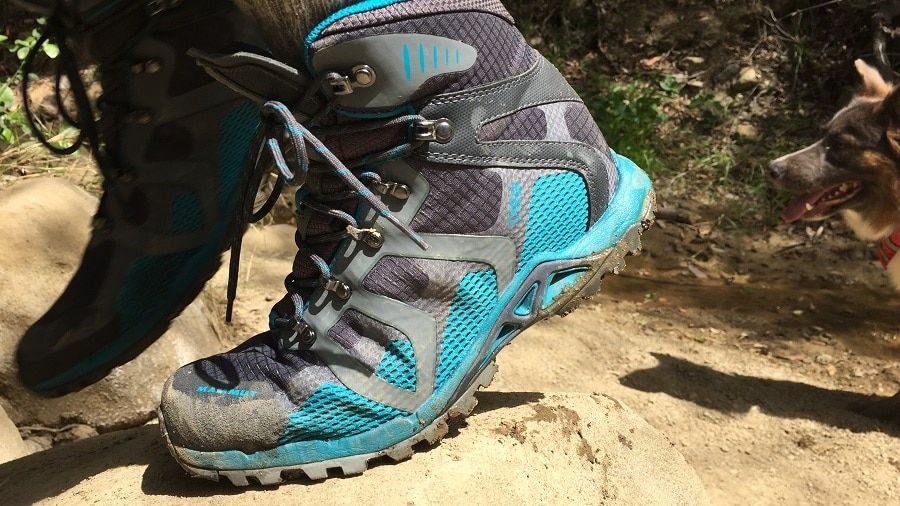 Hiking boot terrain