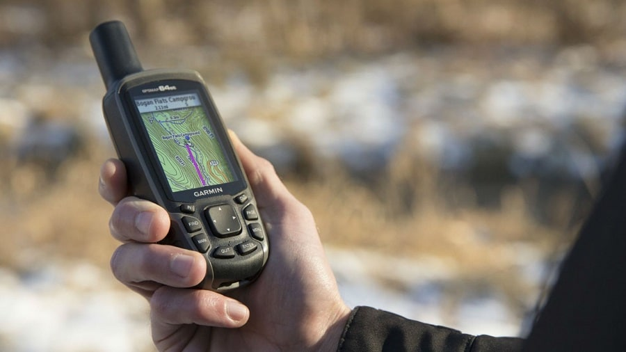 Hunting GPS reception