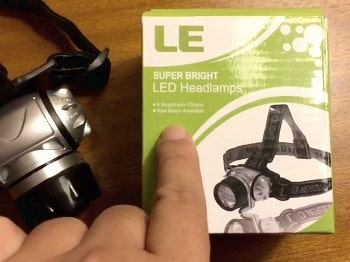 LE Headlamp LED, 4 Modes