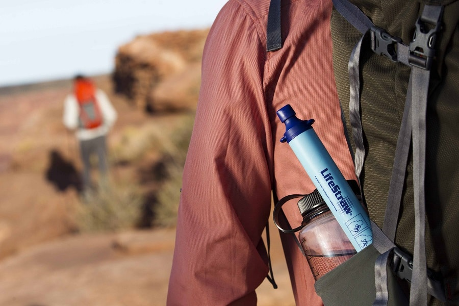 Lifestraw personal water filter for survival