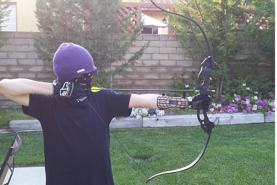 Practice with your Recurve bow