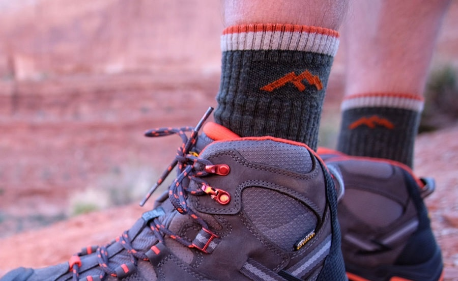 Pull your Hiking socks up