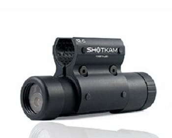ShotKam Gun Camera Mounted to Barrel of Shotgun