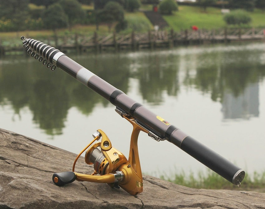 Best telescopic fishing rod of 2017 top products for the for Telescoping fishing pole