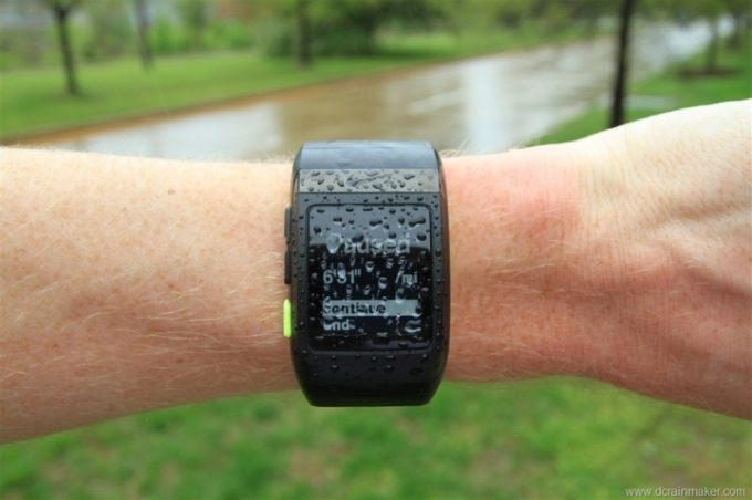 Waterproof gps watch
