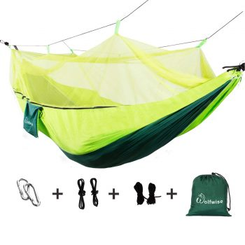 WolfWise Outdoor Double 2 Person Ultralight Camping Hammock
