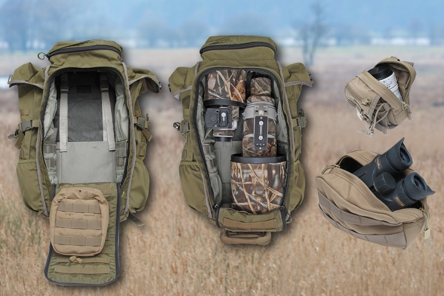 Bow Hunting Backpack features