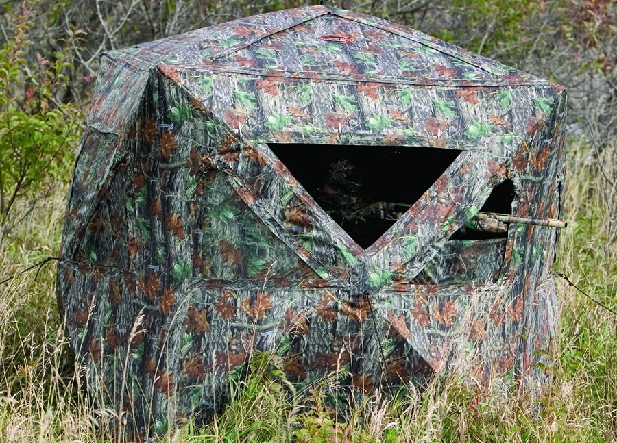 treestands show accessories treestand blinds best ata shot air top ground blind new and