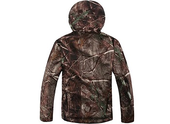 Eglemall Men's Outdoor Hunting Soft Shell Waterproof Tactical Fleece Jackets