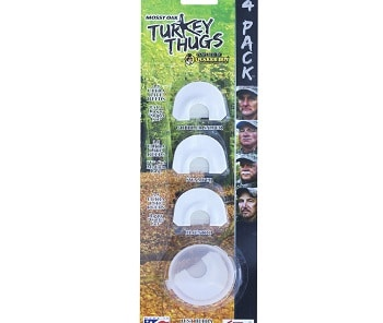 Quaker Boy Turkey Thugs 4-pack Mouth Calls