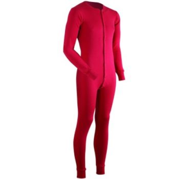 ColdPruf Men's Dual Layer Long Sleeve Union Suit