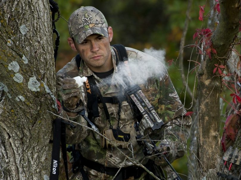 scent covering when hunting