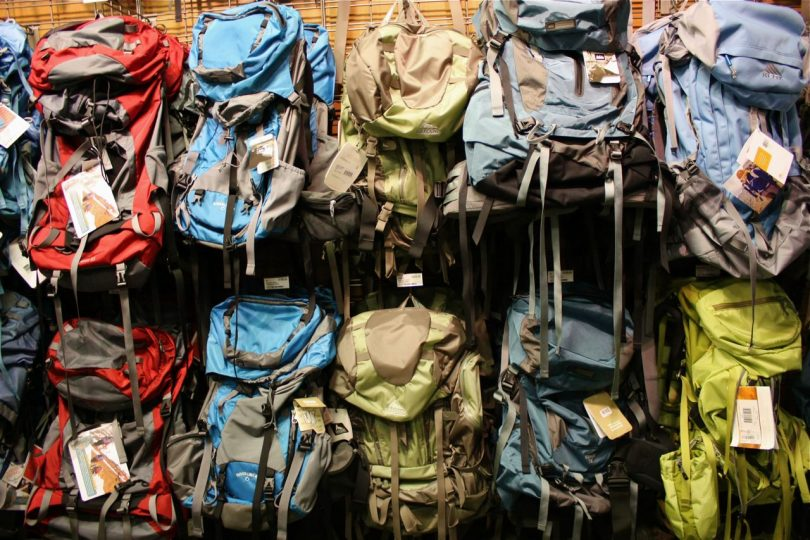 Backpack store