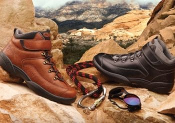 Dr. Comfort Ranger Men's Therapeutic Diabetic Extra Depth Hiking Boot Leather Lace