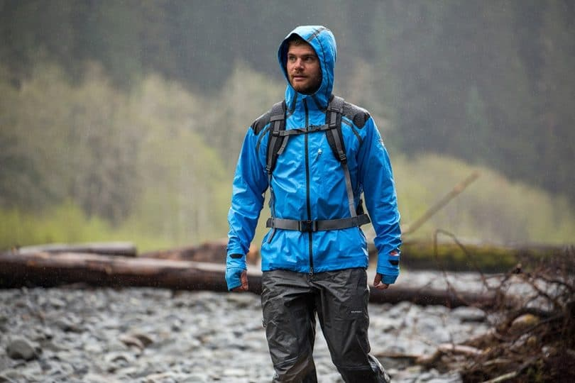 Hiking rain gear