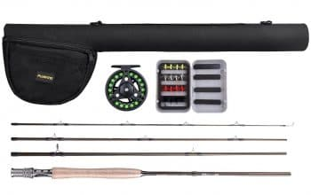 PLUSINNO Lightweight Ultra Portable Fly Fishing Rod