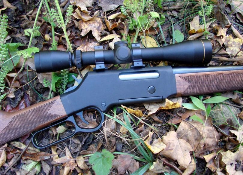 Rifle trigger and scope