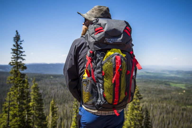 Ultralight camping backpack